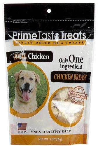 Prime Taste Treats Freeze Dried Chicken Breast – 3oz, My Pet Supplies
