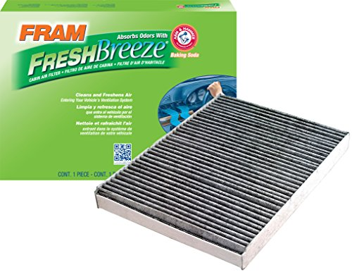 FRAM CF8644A Fresh Breeze Cabin Air Filter with Arm & Hammer