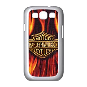 Harley Davidson Samsung Galaxy S3 9300 Cell Phone Case White Personalized Phone Case LK5L79448