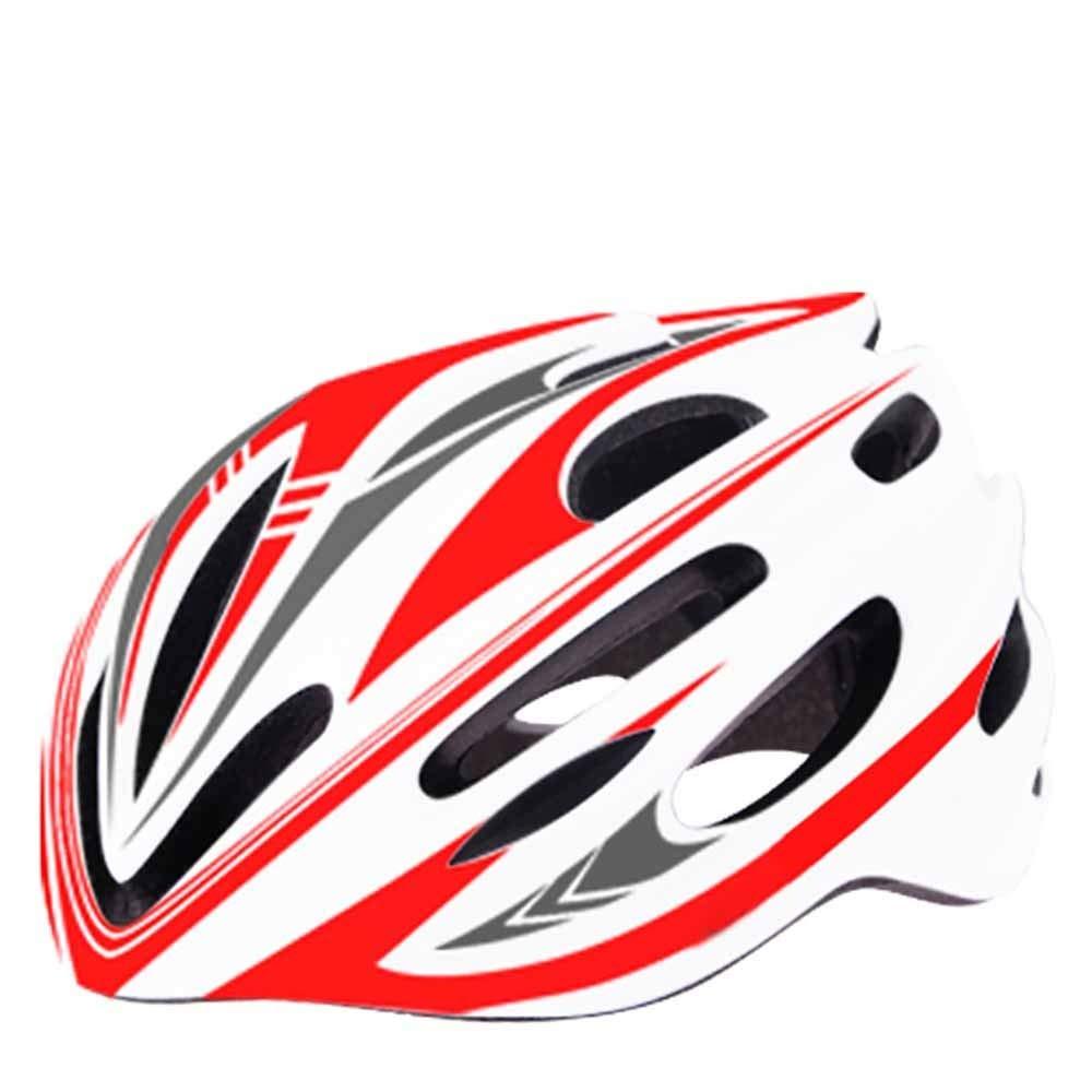 CZPF Rennradhelm Einteilige MäNner Und Frauen Vier Jahreszeiten Fahrradhelm Sport Outdoor Schutzhelm Off-Road,E-OneGröße(5561CM)