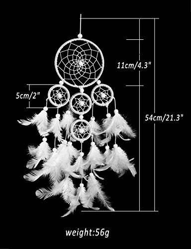 Dream Catcher Decor, Marsway 2017 Creative India Style Dreamcatcher With Feather Wall Hanging Hanging Ornament Craft Gift
