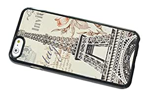 1888998348101 [Global Case] City Urban Landscape London Eiffel Tower Phone booth UK United Kingdom River Thames Paris England Scotland Wales Common Wealth (BLACK CASE) Snap-on Cover Shell for LG Optimus L5II