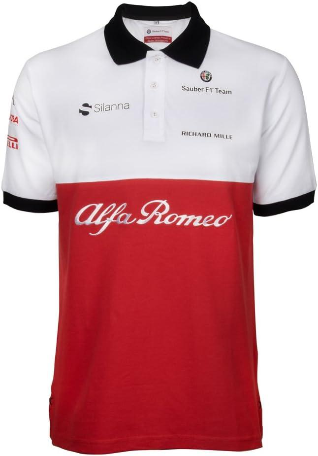 Sauber Motorsport AG Alfa Romeo Limpio F1 Team Polo Camiseta 2018 ...