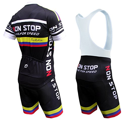 Amazon.com   Dianno Nonstop Quality Cycling Set Jersey + bib Short.    Sports   Outdoors 44c3d780f