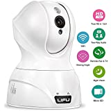 Wireless IP Camera, LiFu 1280 x 720P Home Security Surveillance HD Pan and Tilt WiFi Camera Built-In Microphone with Night Vision for Pet, Baby Video Monitoring