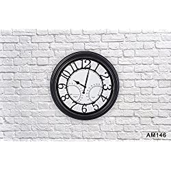 Smartsense 18 Inches Wall Clock European and American Style Retro Vintage Creative Gift Design Decorative Indoor Kitchen Clock