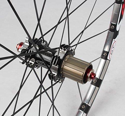 MTB Mountain Bike Bicycle 27.5inch Milling trilateral Alloy Rim Carbon Hub Wheels Wheelset