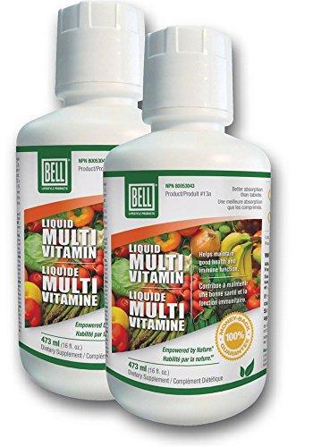 Bell Liquid Multi-Vitamin (437ml – 16 fl.oz.) 2-Pack