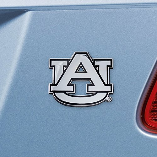 FANMATS 14788 NCAA Auburn University Tigers Chrome Team Emblem