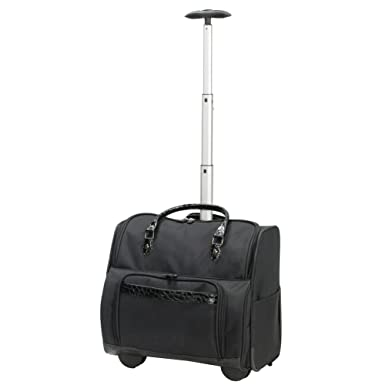 3ba18b6fb6 Preferred Nation Women s Travelwell Overnight Laptop Rolling Case Travel  Totes