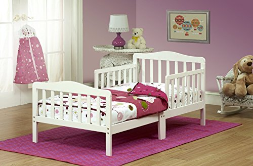 Orbelle Toddler Bed, 3-6T, French White by Orbelle