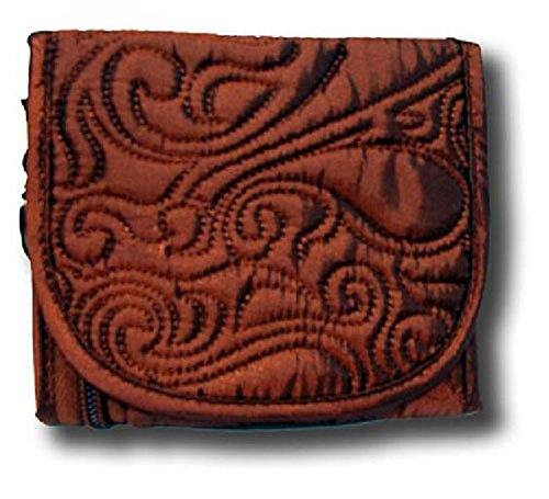 Paisley Copper (Donna Sharp Quilt Copper Paisley Small Quilted Wallet 12779)