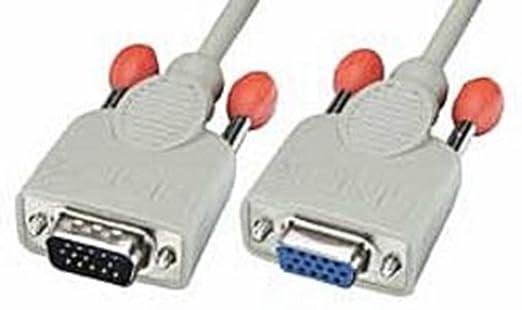 3 opinioni per Lindy 31542 Cavo VGA M/F, 5 mt, Grigio Chiaro