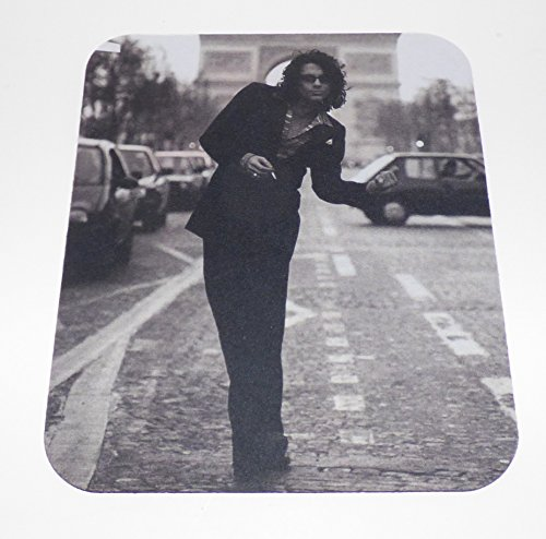 Michael Hutchence Inxs Computer Mouse Pad (1/4 Inch Thick)