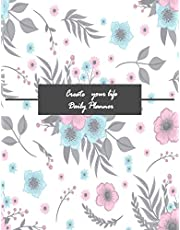 Daily Planner (53 weeks): Cool and Vintage  Cover 8.5 X 11 in, large space to note and write your daily schedule as well as a to do list.