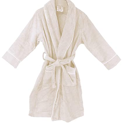 Amazon.com  OrganicTextiles Royal Spa Terry Cloth Bathrobe 4b9eaa6ad