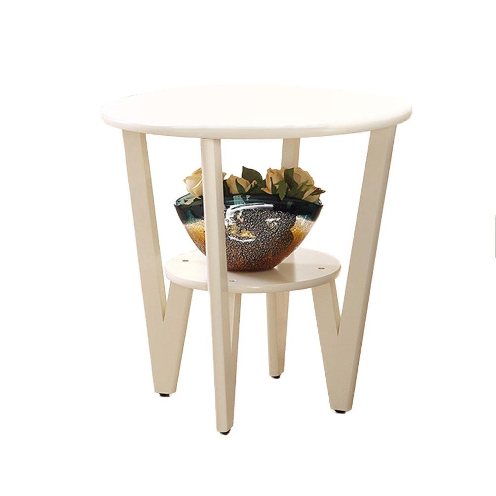 CSQ リビングルーム小さなコーヒーテーブル、クリエイティブなソリッドウッドソファテーブルサイドテーブルいくつかのサイドベッドサイドテーブルリビングルームの装飾小さなラウンドテーブル (色 : #2, サイズ さいず : 60*58CM) B07DZHZM1Y 60*58CM|#2 #2 60*58CM