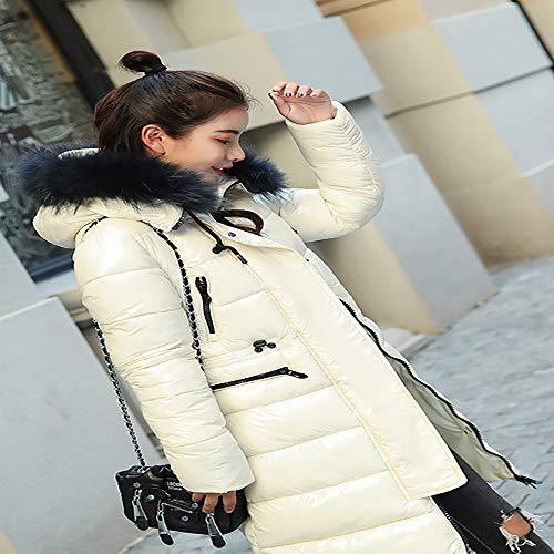 Donna red Ultraleggero Da White Lunga Lungo Invernale Giacca xxl Donna Piumino Soprabito Cappuccio Slim Con BZ4U7wq