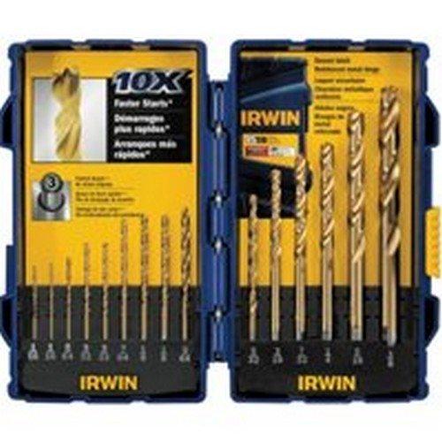 Irwin Titanium Drill Bit Set 15 Piece