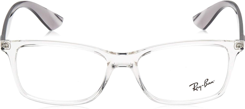 Ray Ban 0Rx7047 Monturas de gafas, Transparente, 54 para