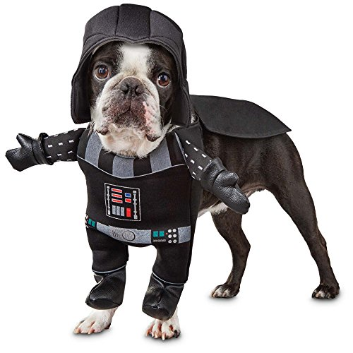Small Dog Costume - Puppy Halloween - Star Wars Dog Costume - Darth Vader Costume for Dogs - Cutest Puppy Outfit.