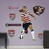 Soccer Alex Morgan - Ball Control Wall Decal Sticker 44 x 67in