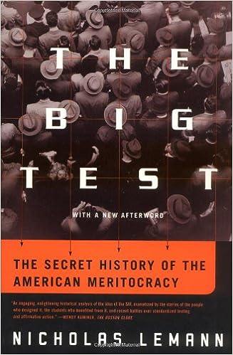 Descargar libros en formatos epub. The Big Test: The Secret History of the American Meritocracy 0374527512 en español PDF PDB CHM