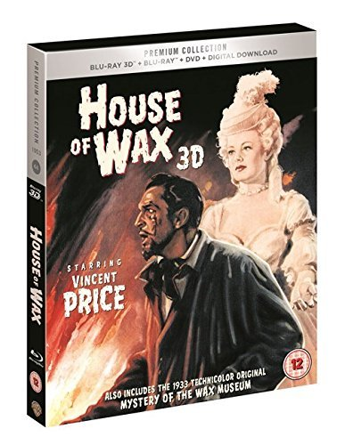 House of Wax 3D UK Bluray +Dvd + digital Download Exclusive ...