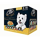 Cesar Home Delights Wet Dog Food, Variety Pack (3.5 Oz., 40 Ct.)