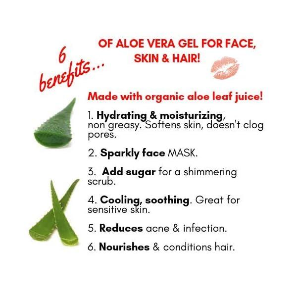 Unicorn Sparkles Eco Glitter Gel. Make up for Face Eyes Lips Body Shimmer, Hair. Glitter Face Mask. Moisturizing Aloe… 5