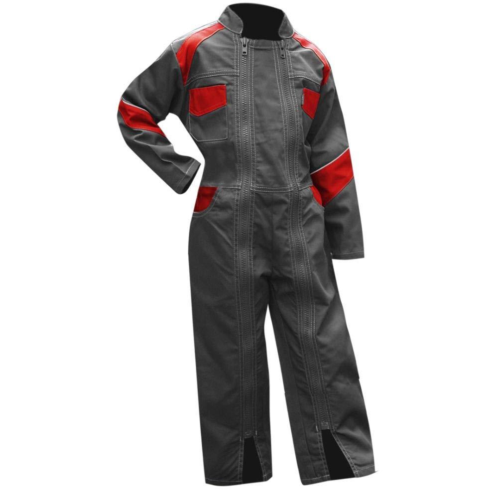 LMA 400921TOURNESOL Combinaci/ón con doble cierre talla 10A gris y rojo