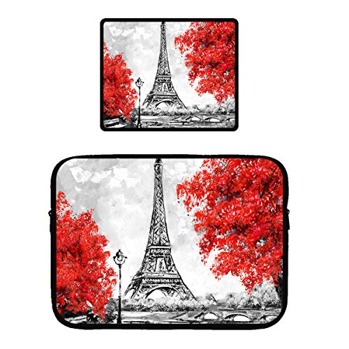 Queekinwang Oil Painting Paris Wallpaper Eiffel Tower Black White And Red Spa Wrap Bath Towel Badausstattung Exclusivefitness Gr