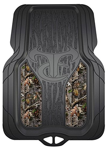True Timber 79907 Kanati Camo All Weather 2-Piece Floor Mat - 2 Piece All Weather Floor