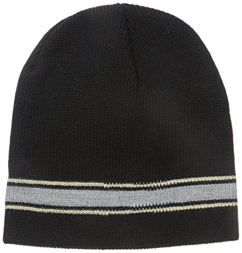 Price comparison product image Wigwam Men's Retro Stripe Hat, Black, One Size