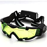 Allytech Green Lens Adjustable Elastic Band Night Vision Goggles Glasses Eyeshield M2 Great Toy for Kids