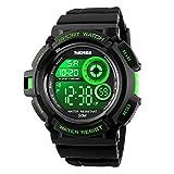 EOBP Sport watch 50M waterproof LED back light electronic watch student wrist watch SKEMEI watch