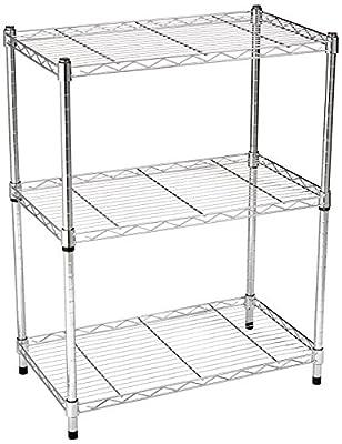 AmazonBasics 3-Shelf Shelving Unit