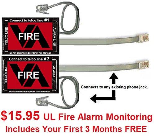 Virtual Alarm UL Fire Digital Dual Phone Line Alarm Monitoring Re-Transmitter from VirtuAlarm