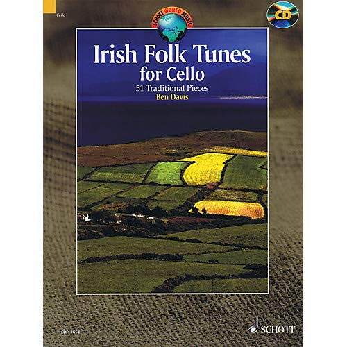 Irish Folk Tunes for Cello (51 Traditional Pieces) String Series Softcover with CD Pack of 2