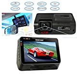 FHD 1080P 170 Wide Angle Dash Cam 4.3' LCD Car Video Camera G-Sensor WDR Cycle Recording Hidden DVR