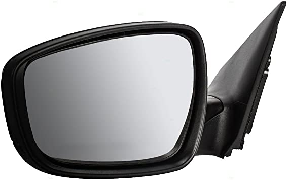 Drivers Power Side View Mirror Heated with Blind Spot Glass Replacement for Hyundai Korea 87610-3X680