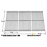 Stainless Steel Cooking Grids for Charbroil 415.16661800, 464220008 and Kenmore 415.16661 Gas Grill Models, Set of 3
