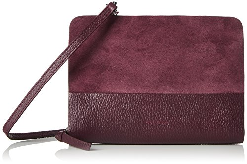 Royal Republiq Galax Eve Suede, Borse a tracolla Donna Rosso (Bordeaux)