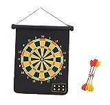 Mini Magnetic Desktop Dart Board With 2 Magnetic Darts Office Desk Toys - C