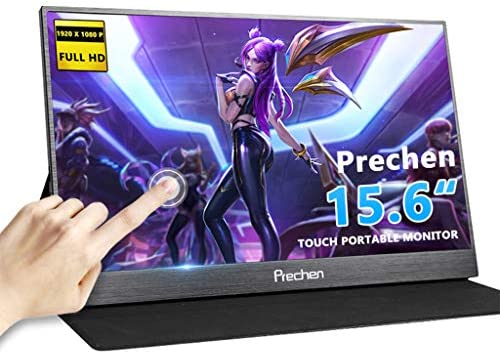 Touch Screen Monitor 15 6 inch USB-C touch screen portable