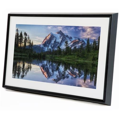 Meural Canvas – Smart Digital Frame | Leonora Black | 27 inch HD Display with WiFi Powered by NETGEAR (MC227BL)