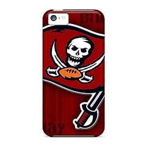 Excellent Design Tampa Bay Buccaneers Phone Case For Iphone 5c Premium Tpu Case