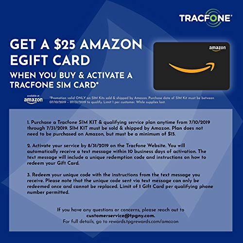 25 eGift Card Promotion) Tracfone Keep Your Own Phone 3-in-1