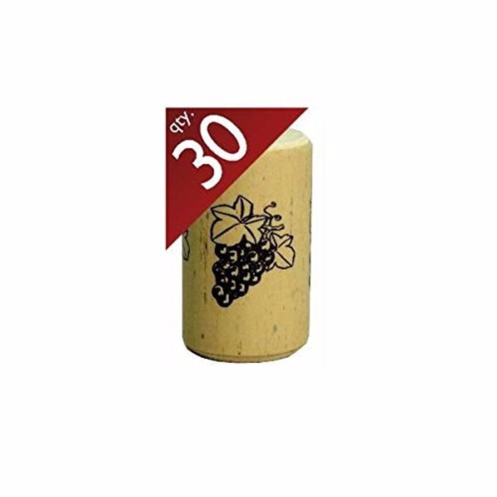 Nomacorc Synthetic Wine Corks #9 x 1 1/2'' Bag of 30