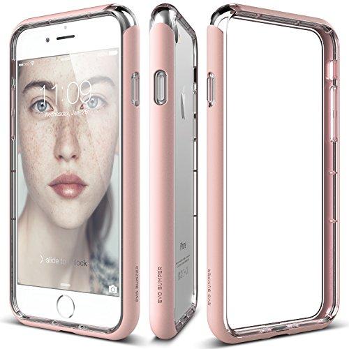 elago iPhone 7 case, [Evo Bumper][Lovely Pink] - [Superior Edge Protection][Dual Layering][Durable Hardshell]
